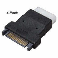 SATA to Molex Adapters 4-Pack