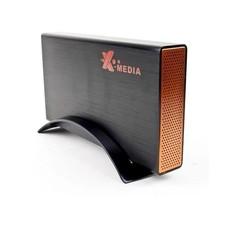 """X-Media EN-3651-BK 3.5"""" USB2.0/eSATA to SATA HDD Enclosure"""
