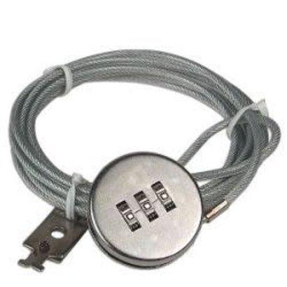Notebook 3-Digit Combo Lock