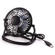 "USB Desktop 4"" Mni Fan Model 810, Black"