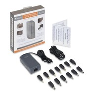 Cables Unlimited Cables Unlimited PWR-LAP-UD120 120W Universal Laptop Charger with Automatic Voltage Selection & 13 Interchangeable Connectors