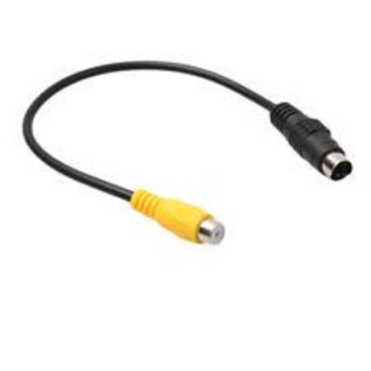 "6"" S-Video to RCA M/F Adapter"