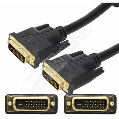 15Ft Ultra DVI-D 24-pin Dual link Video Cable, Black