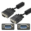 50Ft. Standard VGA Male Male Monitor Cable, Black
