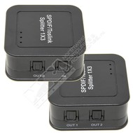 Gigacord 3 to 1 Digital Optical Toslink Splitter