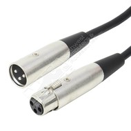 XLR 3P Male/Female Microphone Cable (3 - 100ft.)