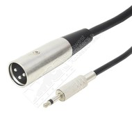 XLR Male to 3.5mm Mono Male Cable (Choose Length)