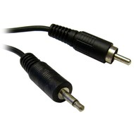 6 Foot 3.5mm Mono Male to Single RCA Male Cable
