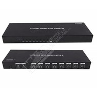 Dtech DT 8-Port USB/HDMI KVM Switch w/Cable