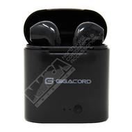 Gigacord Gigacord I7S TWS Headphones Wireless Bluetooth Earphones Twins Earbuds Stereo Music Headset With Charging Box black