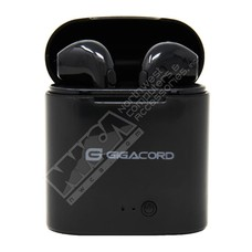 Gigacord Gigacord I7S TWS Headphones Wireless Bluetooth Earphones Twins Earbuds Stereo Music Headset With Charging Box black