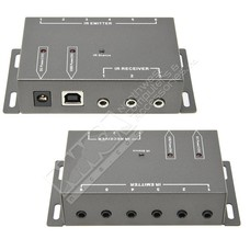 IR Infrared Remote Control Repeater Extender Kit to Control up to 8 Hidden A/V Devices