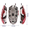 MeeTion MeeTion M985RD Wired USB Gaming Mouse Red