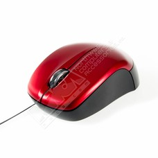 "KUPI R820 28"" Rectractable Optical Mouse (Red)"