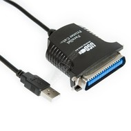 3 Foot USB A Male to IEEE-1284 Centronic 36pin Parallel Printer Cable, 3 Foot (1 Meter)