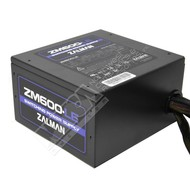Zalman Zalman 600W LE Series Power Supply Dual forward Switching Circuit Design, ATX12V ver 2.3, Supports ATX 20+4 Pin Motherboard connector, Quiet 120mm fan