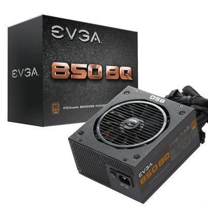 EVGA EVGA 850 BQ, 80+ BRONZE 850W, Semi Modular, 5 Year Warranty, Includes FREE Power On Self Tester, Power Supply 110-BQ-0850-V1