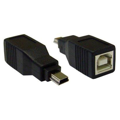 USB Adapter Gender Changer Coupler B (Female) to Mini B 5pin (Male)