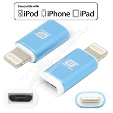 Gigacord Gigacord Micro USB Female to 8-pin iPhone Male Adapter (Choose color)