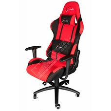 Cryo-PC Red and Black High Back Ergonomic Racing Style Swivel Gaming Chair