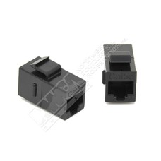 Cat.5E Inline Coupler w/Keystone Latch (Choose color)