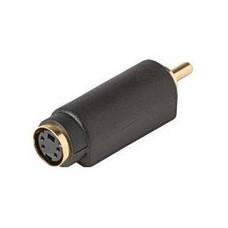S-Video Plug Female to RCA Plug Male