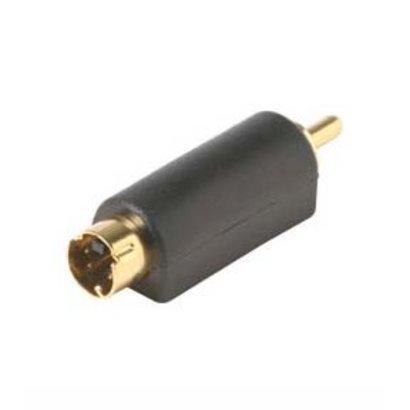 S-Video Plug Male to RCA Plug Male