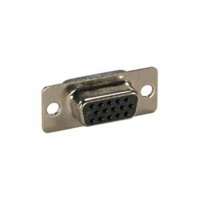 VGA HDDB15 HD Female Solder Cup Connector