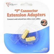 2-Pack F Coax F/F Coupler
