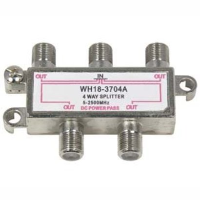 2.5GHz 90dB 4Way Satellite TV Splitter
