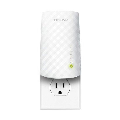 TP-Link TP-Link | AC750 WiFi Range Extender - Dual Band | 2019 Release | Up to 750Mbps | One Button Setup & Remote App Management | Repeater,Internet Booster,Access Point | Smart Home & Alexa Devices (RE220)