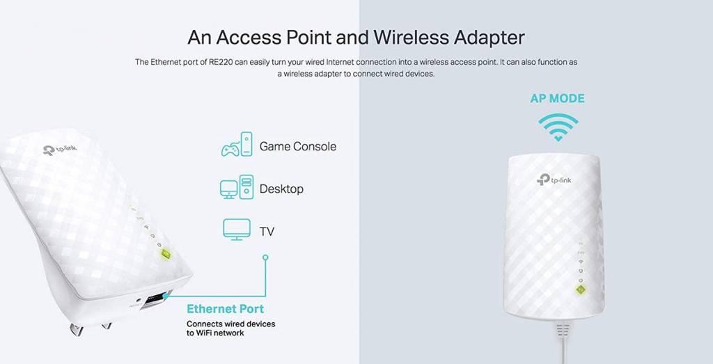 TP-Link | AC750 WiFi Range Extender - Dual Band | 2019
