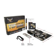 ASUS ASUS TUF Z370-Plus Gaming LGA 1151 (300 Series) Intel Z370 HDMI SATA 6Gb/s USB 3.1 ATX Intel Motherboard