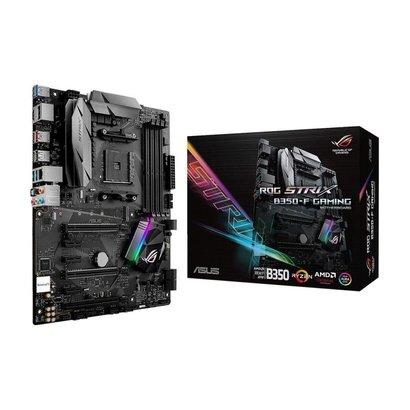 ASUS ASUS ROG STRIX B350-F GAMING AM4 AMD B350 SATA 6Gb/s USB 3.1 HDMI ATX AMD Motherboard