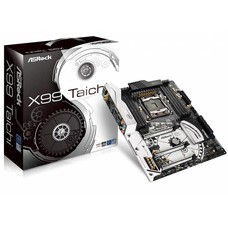 ASRock ASRock X99 Taichi LGA 2011-v3 Intel X99 SATA 6Gb/s USB 3.1 USB 3.0 ATX Intel Motherboard