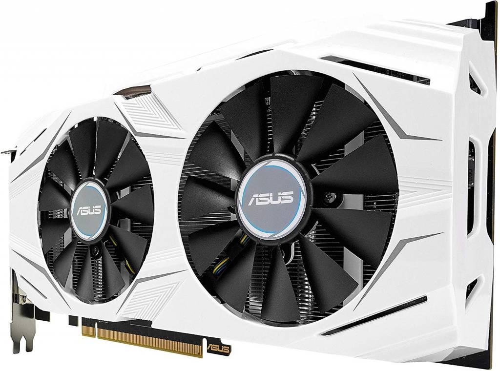 ASUS GeForce GTX 1070 O8GB Dual-fan OC Edition 4K/VR Ready Dual HDMI