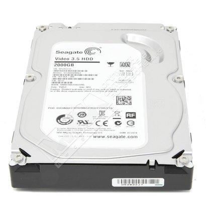 """Seagate Seagate Video ST2000VM003 2TB 5900 RPM 64MB Cache SATA 6.0Gb/s 3.5"""" Internal Hard Drive Bare Drive"""