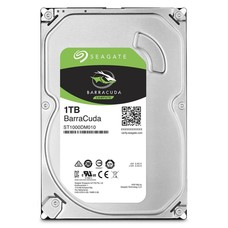 """Seagate Seagate 1TB BarraCuda SATA 6.0Gb/s 64MB Cache 3.5"""" Hard Drive Bare Drive (ST1000DM010)"""