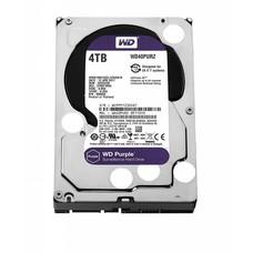 WD WD Purple 4TB Surveillance Hard Disk Drive - 5400 RPM Class, SATA 6 Gb/s, 64 MB Cache, 3.5 inch - WD40PURZ