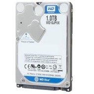 WD WD Blue 1TB Mobile 9.50mm Hard Disk Drive - 5400 RPM SATA 6Gb/s 2.5 Inch - WD10JPVX 9.50mm High