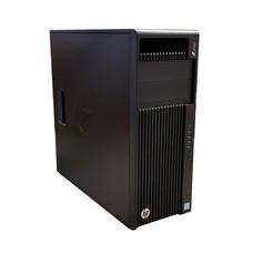 HP HP z440 Workstation, Windows 10 Pro 64-Bit, Xeon E5-1620 v3 3.5GHz, 256GB SSD, 8GB Memory ECC, DVDRW, NIC, AMD FirePro W7100 8GB, No Monitor Included, Factory Recertified