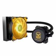 Coolermaster Cooler Master MLW-D12M-A20PW-RT MasterLiquid Lite ML120L TUF Edition RGB AIO CPU Liquid Cooler 120mm RGB Air Balance MF Dual Dissipation Technology