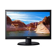 "AOC AOC e2050Swd Black 20"" 5ms Widescreen LED Backlight LCD Monitor, 200 cd/m2 20,000,000:1, VESA Mountable, VGA & DVI-D Inputs"
