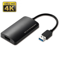 USB 3.0 to 4K DisplayPort Video Adapter