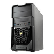 Cougar COUGAR Spike Black Steel / Plastic MicroATX Mini Tower Gaming Case with USB 3.0 and 12CM Cougar Fan