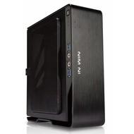 Cryo-PC Mini ITX Intel Pentium G5400 3.7Ghz 2-Core 4-Thread, 8GB DDR4, 120GB SSD +1TB HDD, Windows 10 Pro