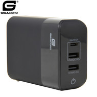Gigacord Gigacord 30W 3in1 Wall Charger, Power Bank, Wireless Charger