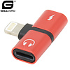 Gigacord iPhone to Headphone/Lightning T Adapter (Choose Color)