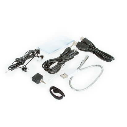 Link Depot Link Depot LD-NBOOK-KIT1 Cable kit, includes USB LED Light, Earphone, USB 2.0 Extension Cable, Adapter, Cable Ties, 3.5mm Audio Cable & Microfiber Cloth