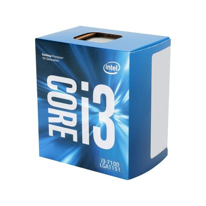 Intel Intel Core i3-7100 Kaby Lake Dual-Core 3.9 GHz LGA 1151 51W BX80677I37100 Desktop Processor Intel HD Graphics 630